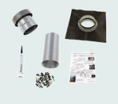 Exhaust kit for roof type 2 – Black
